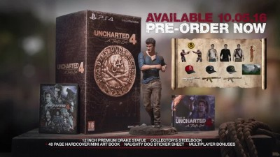 "Uncharted 4: A Thief's End ""Трейлер Collectors Edition"""