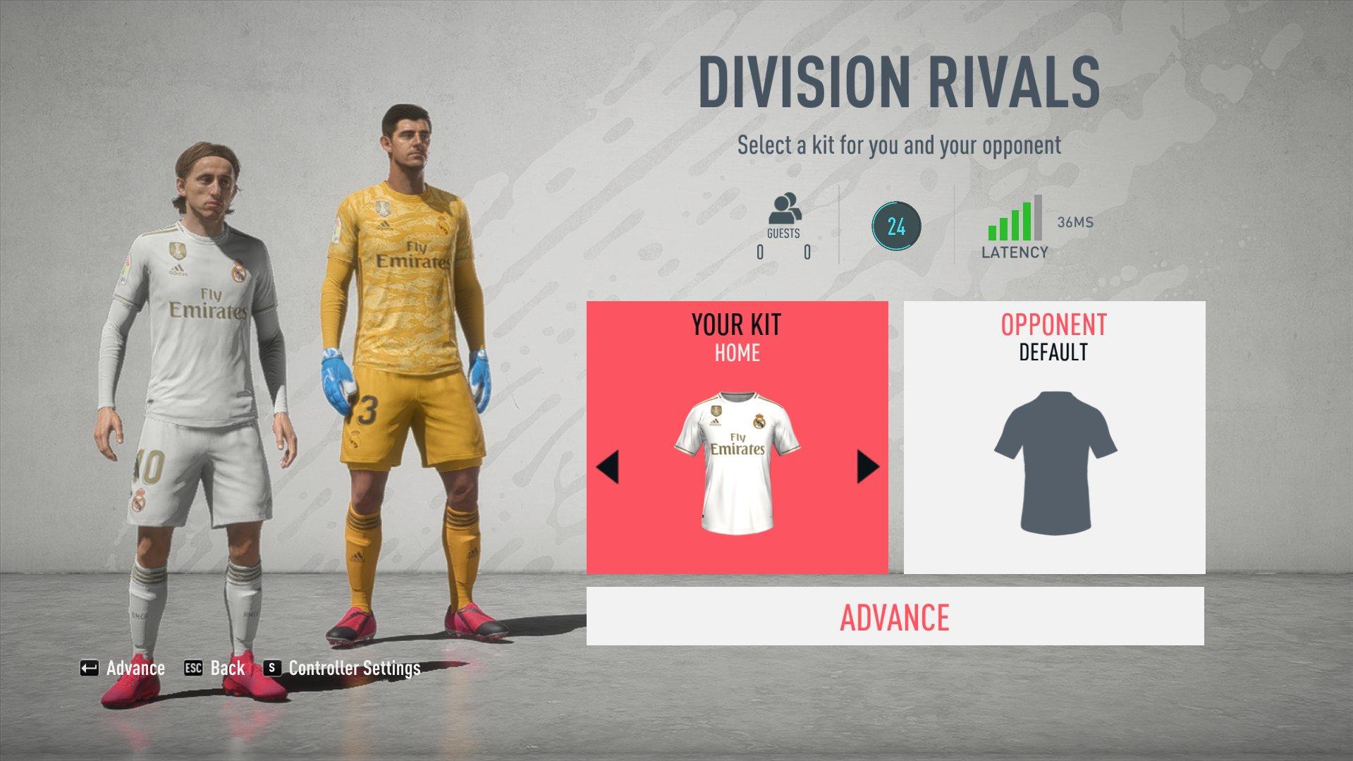 EA наконец добавила числовой индикатор пинга в FIFA 20 Ultimate Team