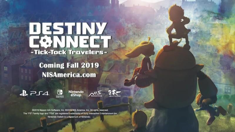 Анонсирующий трейлер Destiny Connect: Tick-Tock Travelers