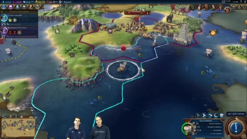 Час геймплея Civilization 6 за Индонезию