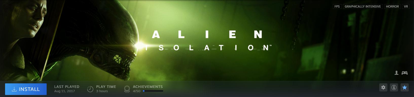 Alien Day: Alien: Isolation получила скидку 95% в Steam и многое другое