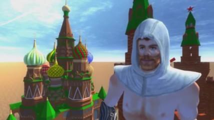 Assassin's Creed в россии! Первый геймплей! [трэш версия]