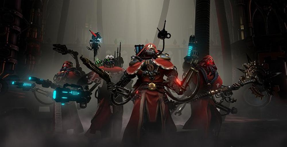 Warhammer 40000: Mechanicus выйдет в 2018-ом