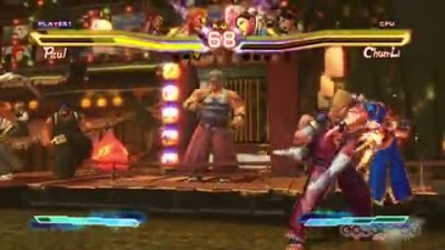 "Street Fighter X Tekken ""Paul and Guile Team Up Gameplay (Xbox 360)"""