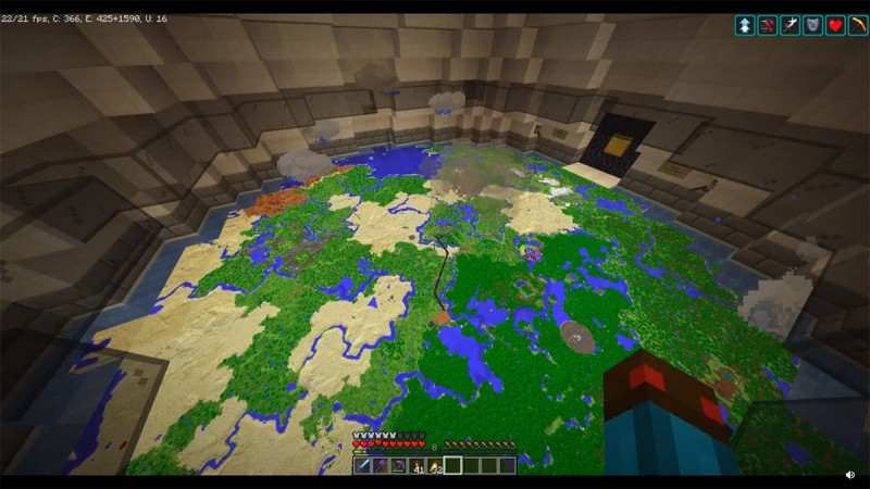 Симуляция погодных условий в Minecraft