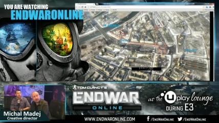 "EndWar Online ""Uplay Lounge during E3"""
