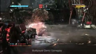 "Transformers: War for Cybertron ""Multiplayer Demo Trailer"""