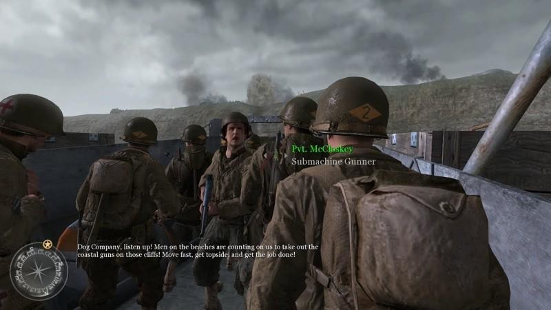 В те времена дежурная высадка в Нормандии просто срывала крышу своей постановкой.