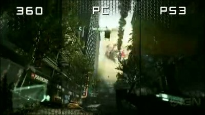 Crysis 2: PS3 vs Xbox 360 vs PC