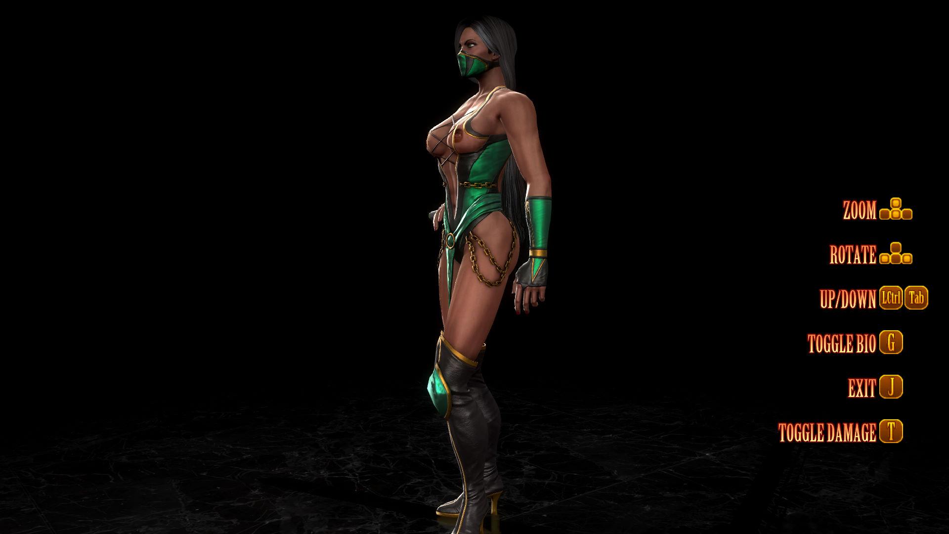 Mortal kombat jade nude erotic clip