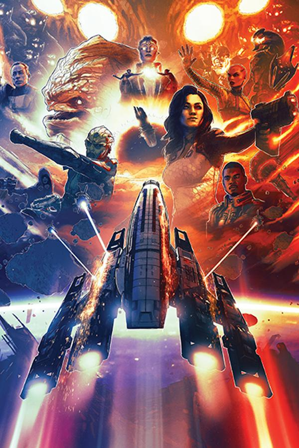 Официальные постеры Mass Effect: Legendary Edition