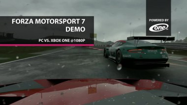 Forza Motorsport 7 Demo - Сравнение графики PC vs. Xbox One (Candyland)