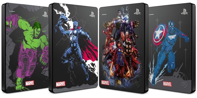 "Представлены накопители Seagate Game Drive ""Мстители Marvel"" для PS4"
