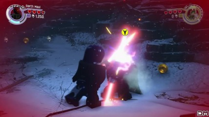"LEGO Star Wars: The Force Awakens ""Darth Maul против Kylo Ren"""