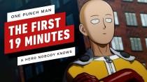 Первые 20 минут файтинга One Punch Man: A Hero Nobody Knows
