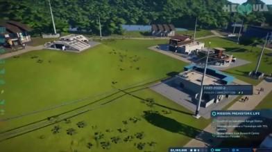 Jurassic World Evolution - создайте свой парк | Обзор
