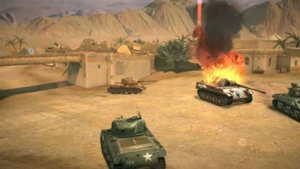 Gameloft сделали собственную версию World of Tanks Blitz