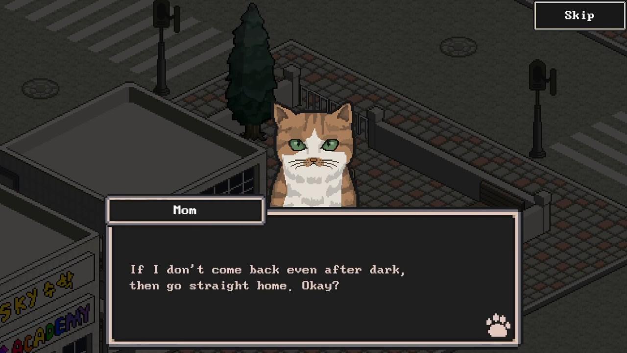 Релизный трейлер Switch-версии A Street Cat's Tale - грустной игры про брошенного котёнка