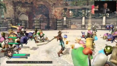 "Dragon Quest Heroes ""Геймплей TGS 2014"""