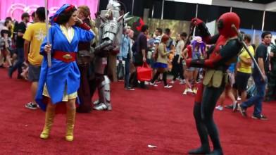 Deadpool против Anime Expo 2018!