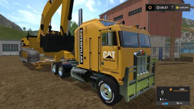 "Farming Simulator 17 ""Huge Cat Heavy Machinery Pack"""