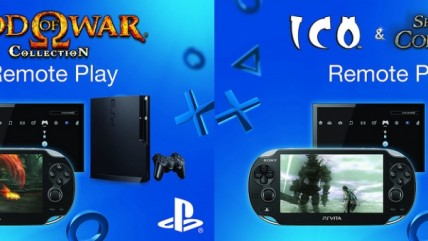 Remote Play приносит God of War Collection и ICO Shadow of the Colossus на PS Vita