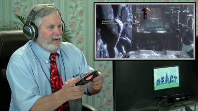 Деды играют в God of War 3