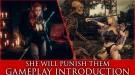 Новый геймплейный трейлер She Will Punish Them