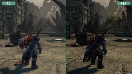 "Darksiders ""Сравнение графики на PC vs. PS4 Warmastered Edition"" (Candyland)"