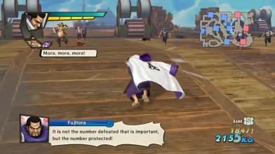 One Piece Kaizoku Musou 3 - Геймплей: Fujitora (Dream Log)