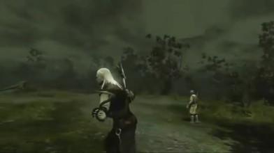 The Witcher Rise Of the White wolf геймплей невыдшего переиздание на консолях