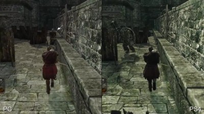 "Dark Souls 2 ""Сравнение от Digital Foundry - PS4 vs PC"""