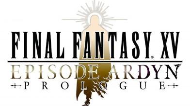 Ключевой арт и логотип Final Fantasy XV: Episode Ardyn Prologue