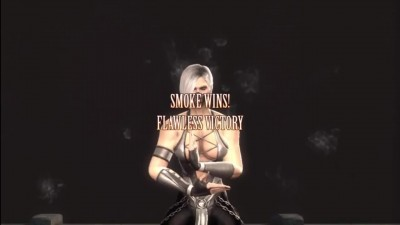Mortal Kombat 9 Female Smoke (Vapor)