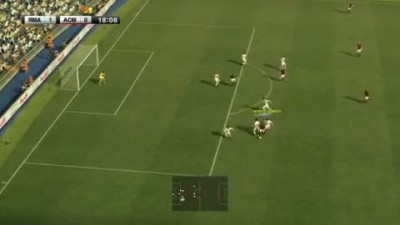 "PES 2012 ""Геймплей Real Madrid vs AC Milan"""