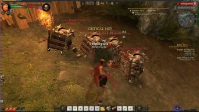 "Warhammer Online ""GC 2008: Battle Gameplay"""