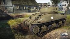 Стальные Генералы: Средний танк M4A1 Шерман