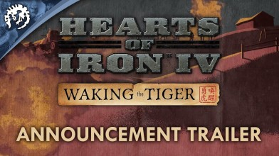 Дополнение Waking the Tiger анонсировано для Hearts of Iron IV