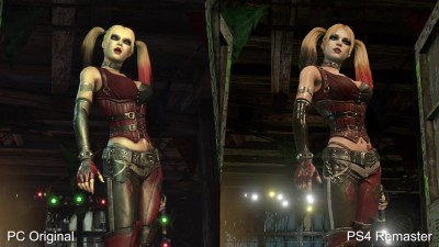 Сравнение графики Batman: Arkham City PS4/Xbox One Remaster vs PC Original (DigitalFoundry)