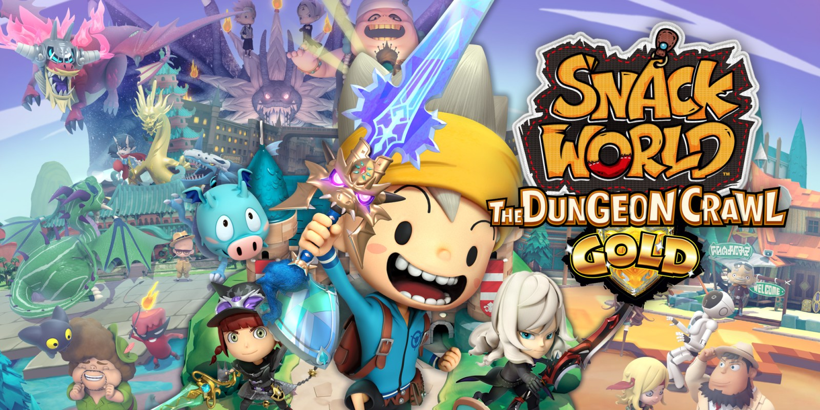 Snack World: The Dungeon Crawl Gold - Трейлер 'Let's get looting!'