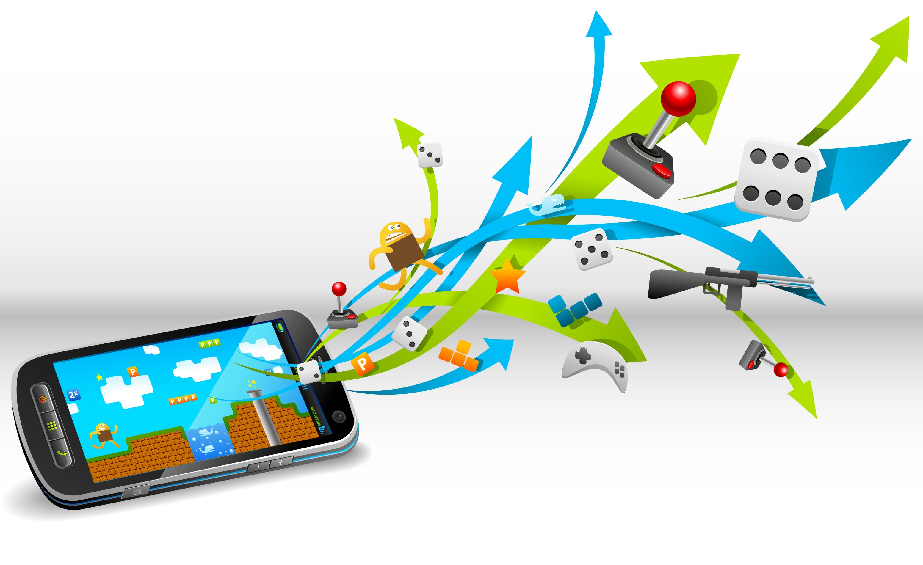 Картинки и игры на сотовый телефон