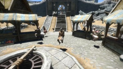 "The Elder Scrolls 5: Skyrim - демонстрация мода ""Floppy"""