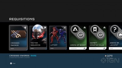 "Halo 5 The Arena Requisition Bundle ""кастомитизация и микротранзакции"""