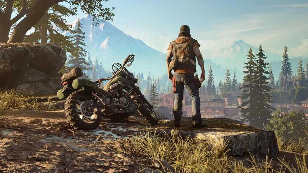 Days Gone - большая подборка новых подробностей из свежего выпуска Game Informer