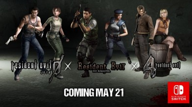 Resident Evil 0, Resident Evil 1 и Resident Evil 4 выйдут на Switch