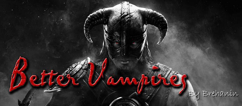 Скачать мод на скайрим better vampires на русском