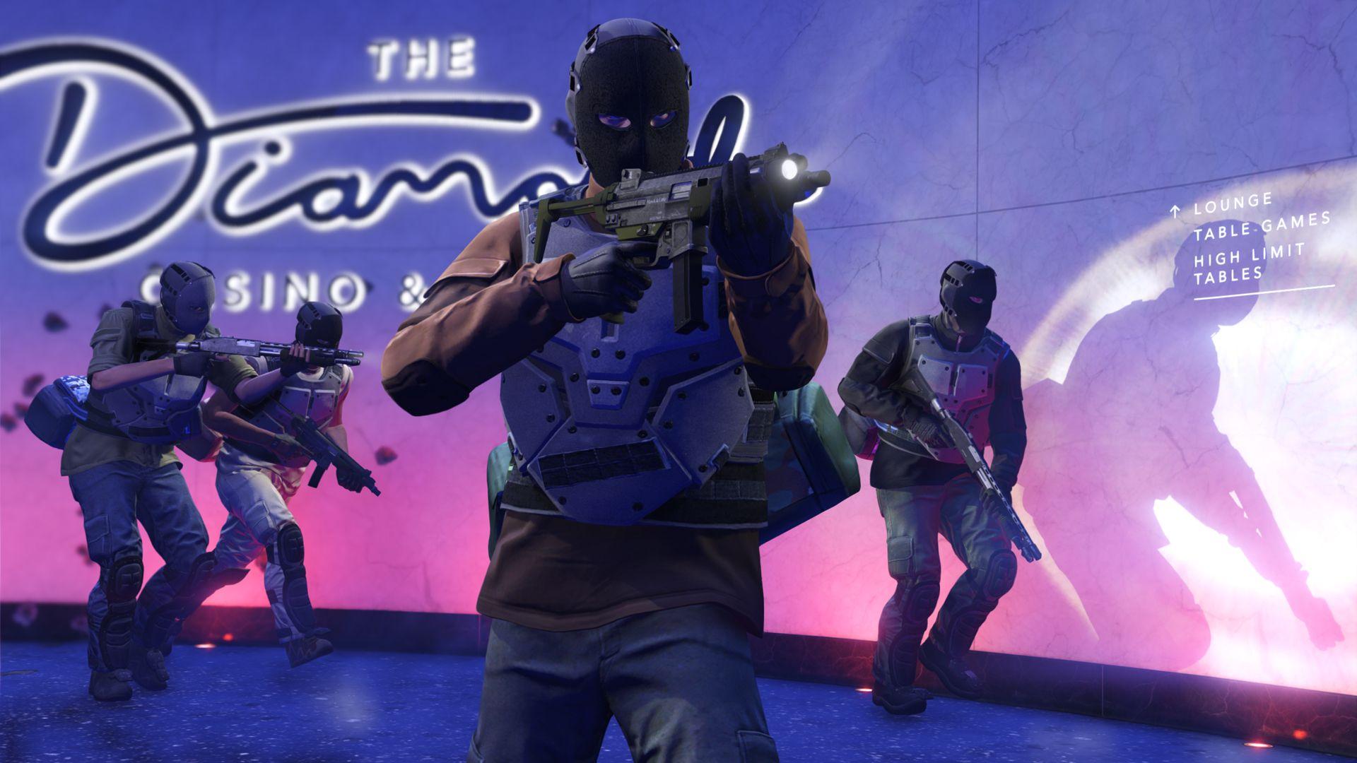 GTA Online: бриллианты возвращаются для ограбления казино