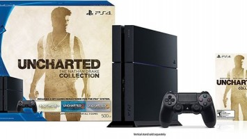 Бандл PS4 с Uncharted Collection за 30 баксов в Target
