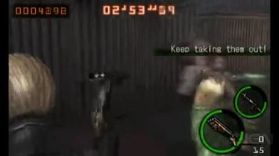 """Resident Evil: The Mercenaries 3D """"Геймплей #1"""""""