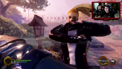 AngryJoe играет в Shadow Warrior 2!
